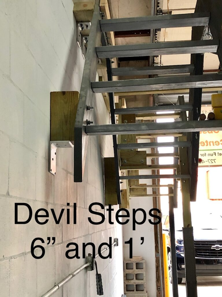 devil steps obstacle