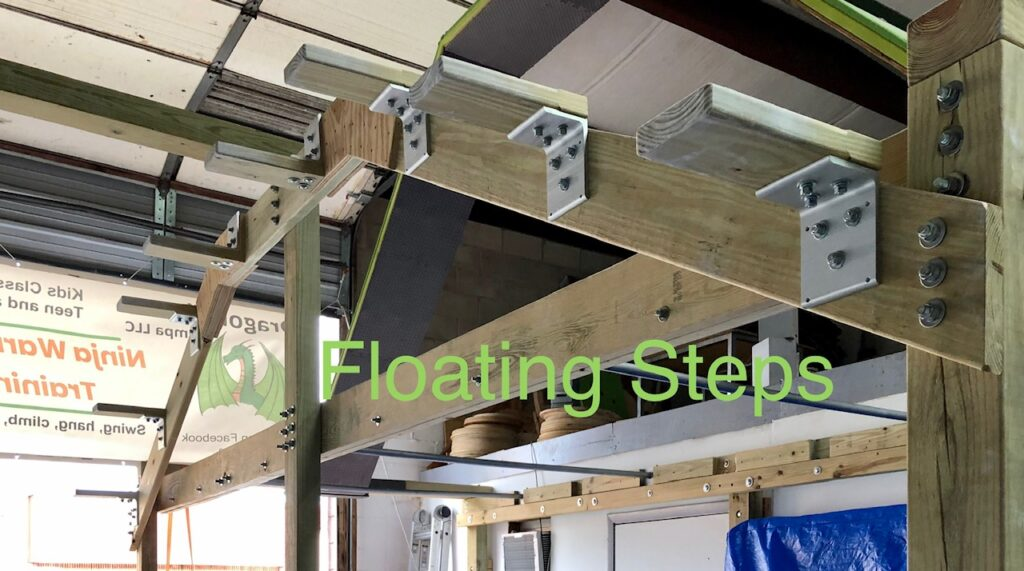floating steps obstacle