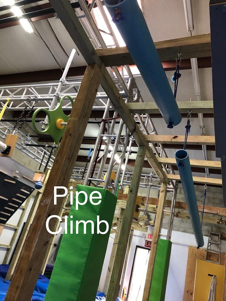 pipe climb obstacle