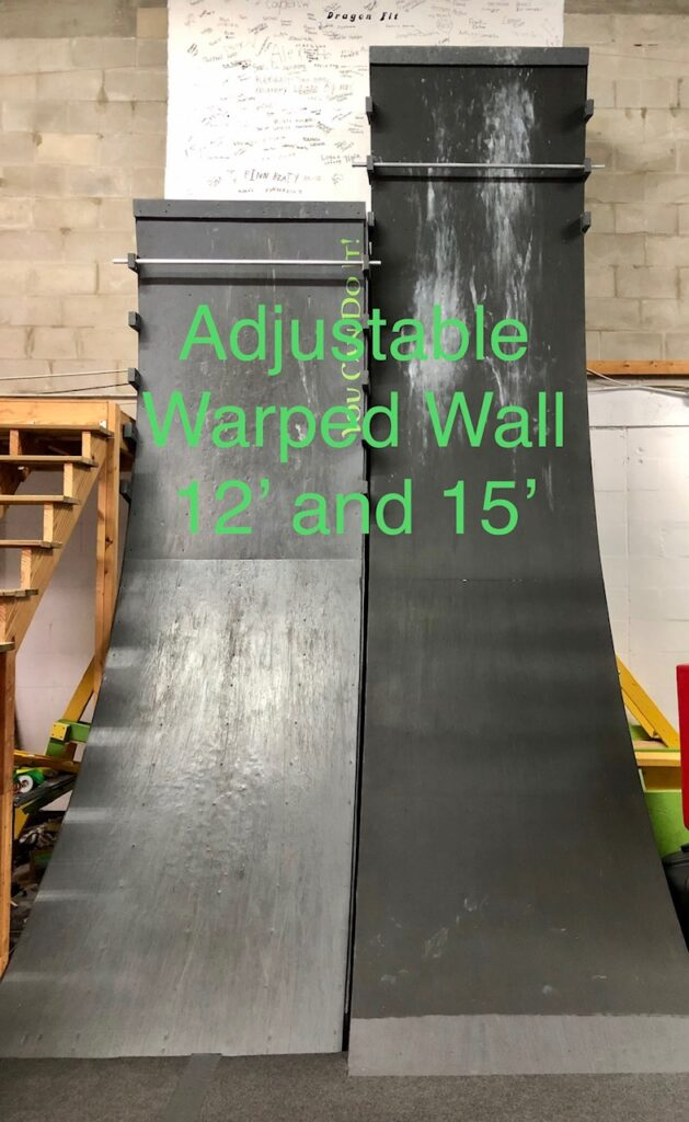 warped walls